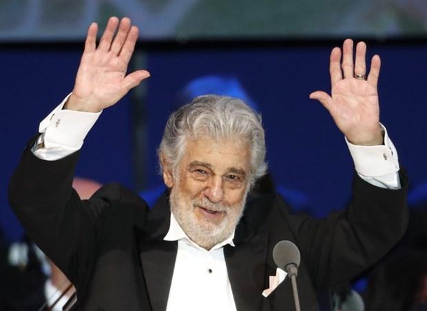 Ca sy opera Placido Domingo rut khoi su kien quang ba Olympic 2020 hinh anh 1