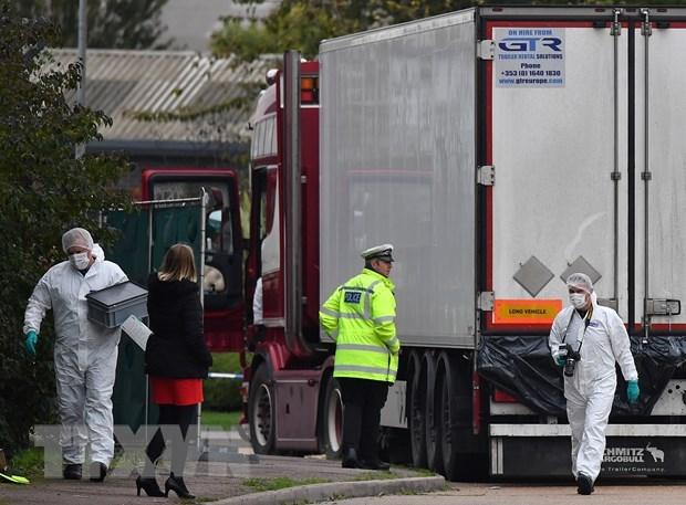 Kết quả hình ảnh cho Bộ Công an công bố danh tính 39 nạn nhân thiệt mạng trong container tại Anh