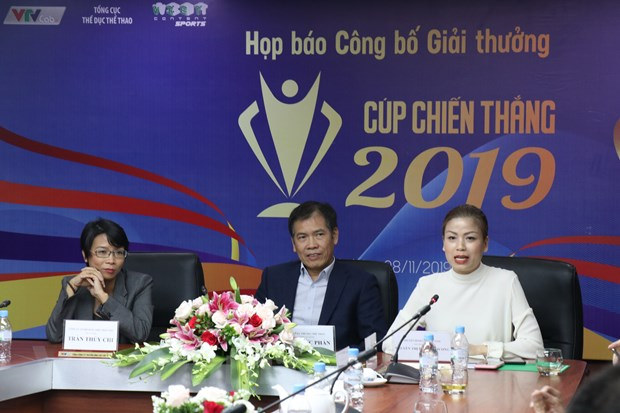 Giai thuong Cup Chien thang 2019: Ton vinh the thao Viet Nam hinh anh 1