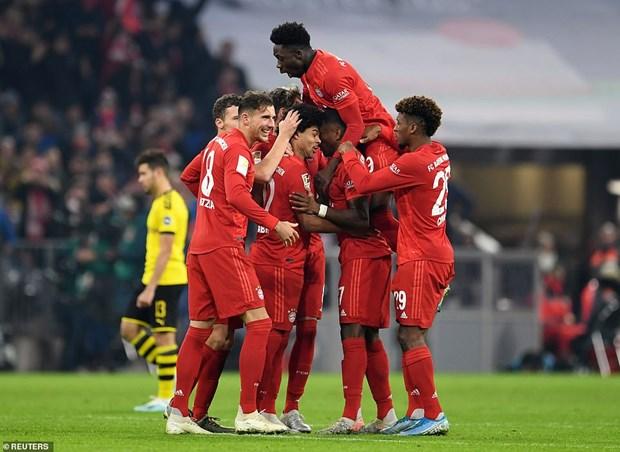 Bayern Munich thang huy diet 4-0 truoc Borussia Dortmund hinh anh 1