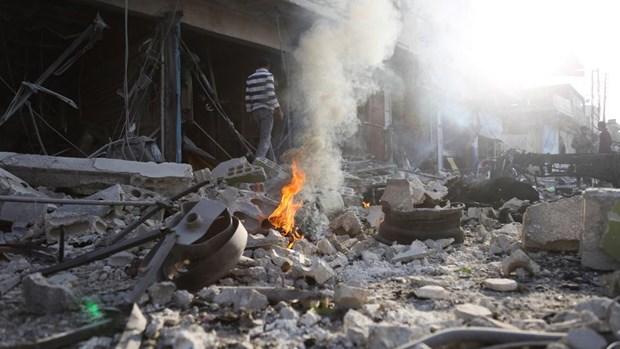 Syria: Danh bom xe tai Dong Bac lam gan 30 nguoi thuong vong hinh anh 1