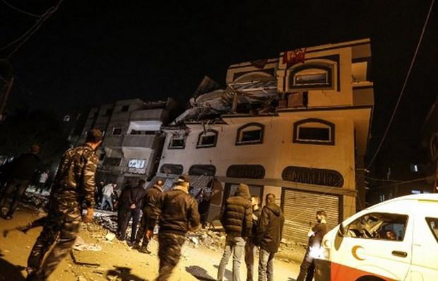 Israel tan cong nha rieng cua chi huy nhom Hoi giao Jihad o Dai Gaza hinh anh 1