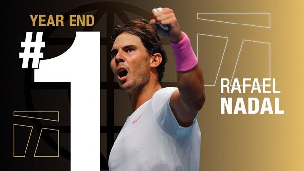 Rafael Nadal khep lai nam 2019 o ngoi vi so 1 the gioi hinh anh 1