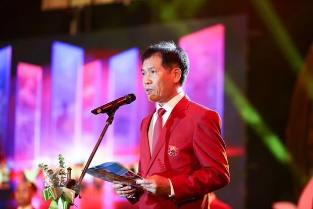 Le xuat quan Doan The thao Viet Nam tham du SEA Games 30 hinh anh 2