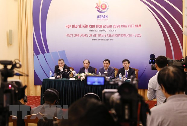 Hop bao quoc te ve Nam Chu tich ASEAN 2020 cua Viet Nam hinh anh 1