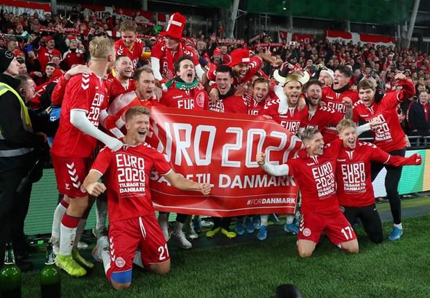 Xac dinh duoc 19 doi tuyen tham du vong chung ket Euro 2020 hinh anh 1