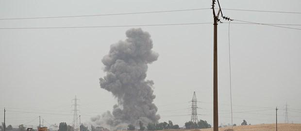 Libya: Luc luong mien Dong pha huy nhieu xe thiet giap cua quan doi hinh anh 1