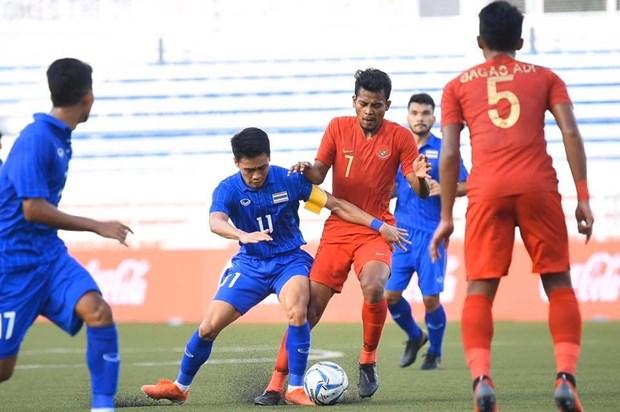 Ket qua bong da SEA Games: U22 Lao co diem, U22 Thai Lan thua soc hinh anh 1