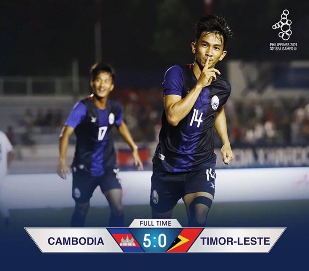 SEA Games 30: U22 Campuchia gianh ngoi dau sau chien thang huy diet hinh anh 1