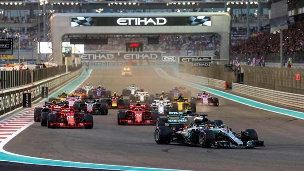 F1 huong toi man thang hoa o duong dua Abu Dhabi Grandprix hinh anh 1