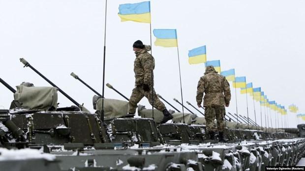 My cap cac khoan vien tro quan su tri gia gan 50 trieu USD cho Ukraine hinh anh 1