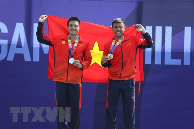 Bang tong sap huy chuong SEA Games 30: Viet Nam mat vi tri thu 2 hinh anh 1