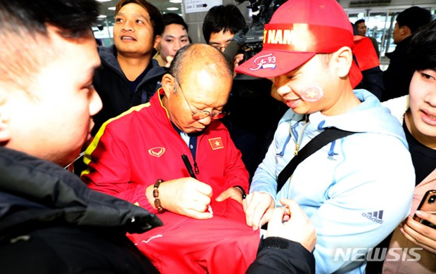 Nguoi ham mo vay kin thay Park khi U23 Viet Nam dat chan den Han Quoc hinh anh 10