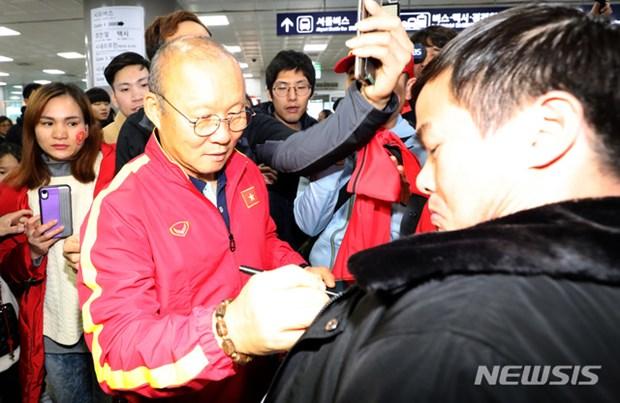 Nguoi ham mo vay kin thay Park khi U23 Viet Nam dat chan den Han Quoc hinh anh 11