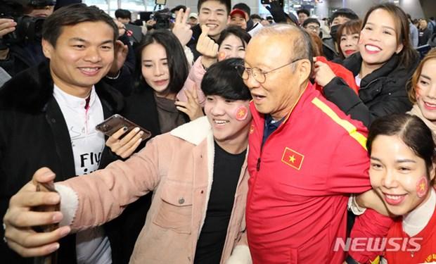 Nguoi ham mo vay kin thay Park khi U23 Viet Nam dat chan den Han Quoc hinh anh 12