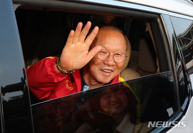 Nguoi ham mo vay kin thay Park khi U23 Viet Nam dat chan den Han Quoc hinh anh 13