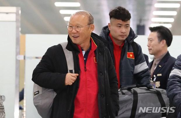 Nguoi ham mo vay kin thay Park khi U23 Viet Nam dat chan den Han Quoc hinh anh 2