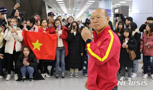 Nguoi ham mo vay kin thay Park khi U23 Viet Nam dat chan den Han Quoc hinh anh 4