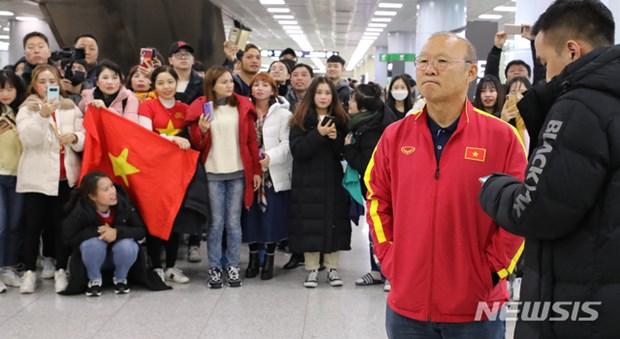 Nguoi ham mo vay kin thay Park khi U23 Viet Nam dat chan den Han Quoc hinh anh 5
