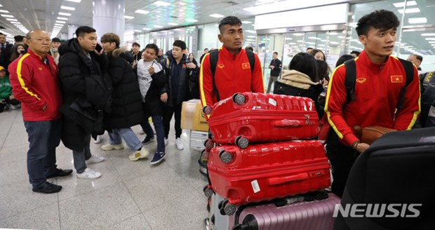 Nguoi ham mo vay kin thay Park khi U23 Viet Nam dat chan den Han Quoc hinh anh 6