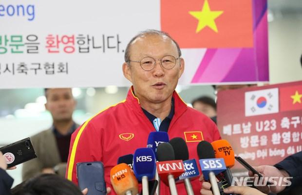 Nguoi ham mo vay kin thay Park khi U23 Viet Nam dat chan den Han Quoc hinh anh 9