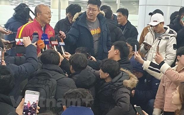 U23 Viet Nam dat chan den Han Quoc, 'luyen cong' cho giai U23 chau A hinh anh 1