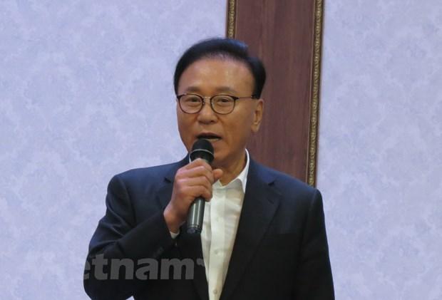 Dai su Viet Nam tai Han Quoc tham hoi dong vien doi tuyen U23 hinh anh 2