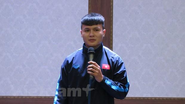 Dai su Viet Nam tai Han Quoc tham hoi dong vien doi tuyen U23 hinh anh 3