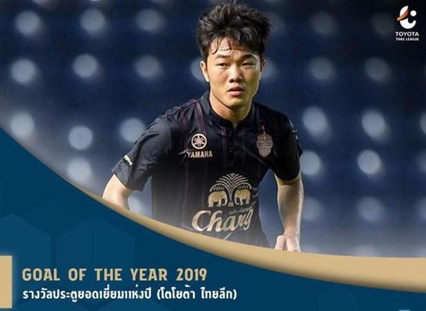 Sieu pham cua Xuan Truong gianh giai Ban thang dep nhat Thai League hinh anh 1