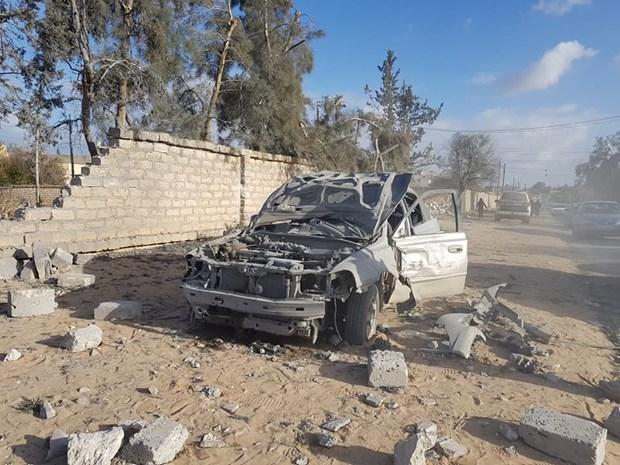 Libya: 10 nguoi thuong vong trong vu tan cong vao phia Dong Tripoli hinh anh 1