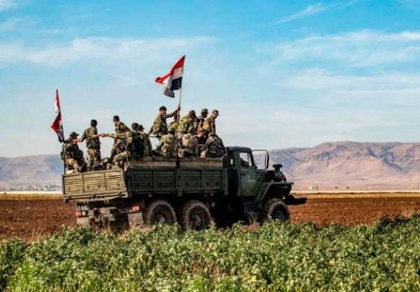Quan doi Syria giai phong nhieu khu vuc quan trong o tinh Idlib hinh anh 1