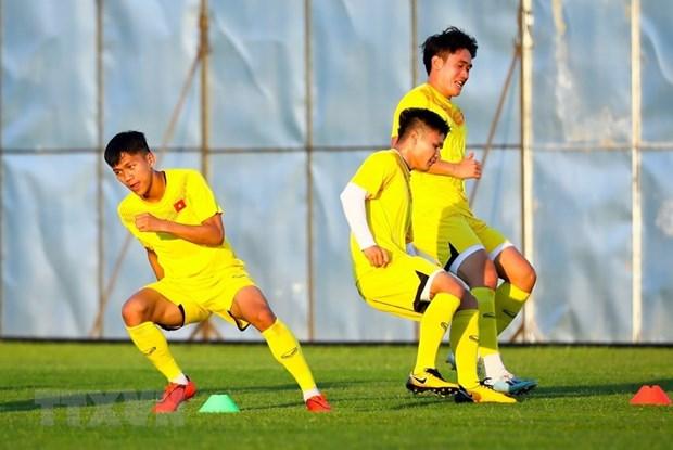 FIFA: U23 Viet Nam la 'ngua o' trong cuoc dua tranh ve du Olympic hinh anh 1