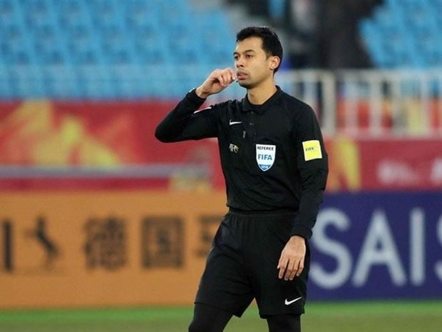 Cong bo danh tinh trong tai bat chinh tran U23 Viet Nam-U23 UAE hinh anh 1