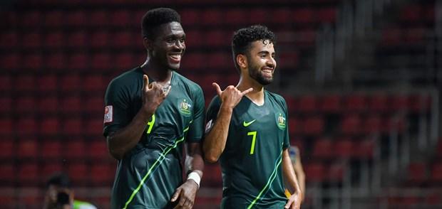 U23 Thai Lan vao tu ket sau tran cau kich tinh truoc U23 Iraq hinh anh 3