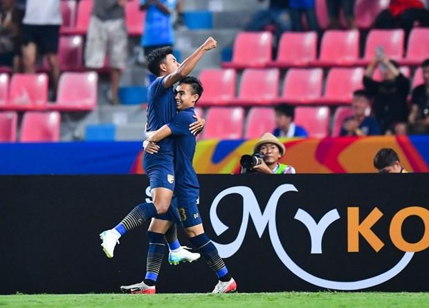 U23 Thai Lan vao tu ket sau tran cau kich tinh truoc U23 Iraq hinh anh 1