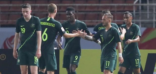 VCK U23 chau A 2020: Da xac dinh duoc 3 doi bong vao tu ket hinh anh 1