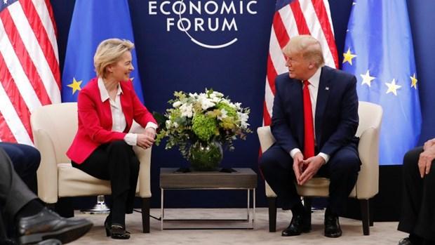 WEF 2020: My va EU thao luan ve thoa thuan thuong mai song phuong hinh anh 1