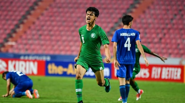 Ha be Uzbekistan, Saudi Arabia thang tien chung ket U23 chau A hinh anh 1