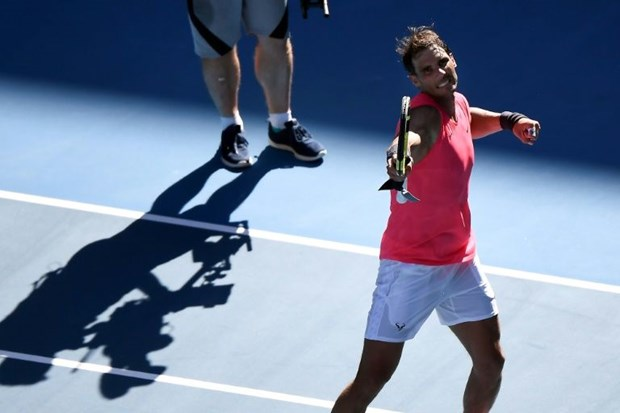 Australian Open: Nadal thang tien vao vong 4 sau tran 'noi chien' hinh anh 1