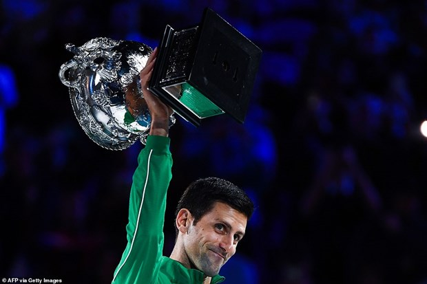 Ha Thiem, Djokovic lap ky luc vo dich moi tai Australian Open hinh anh 1