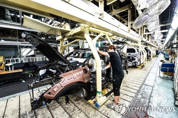 Hyundai va Kia ngung mot so day chuyen lap rap do thieu phu tung hinh anh 1