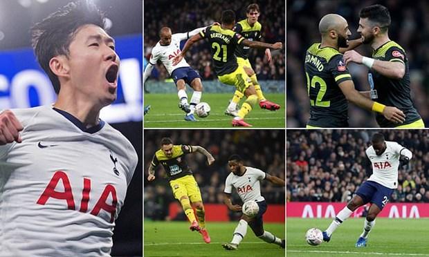 Son Heung-min toa sang giup Tottenham thang nghet tho hinh anh 1
