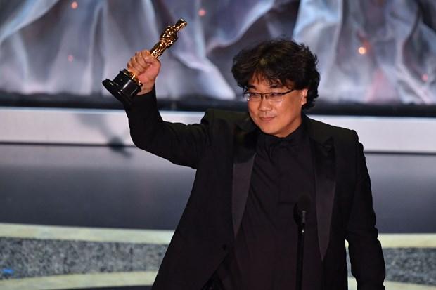 'Parasite' lap ky tich trong mot mua Oscar mang tinh toan cau hinh anh 1