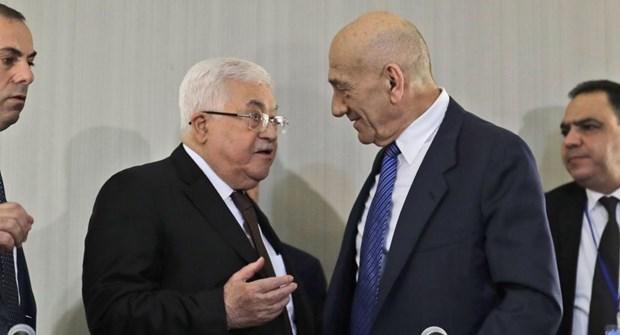 Ong Ehud Olmert: Tong thong Palestine la doi tac hoa binh duy nhat hinh anh 1