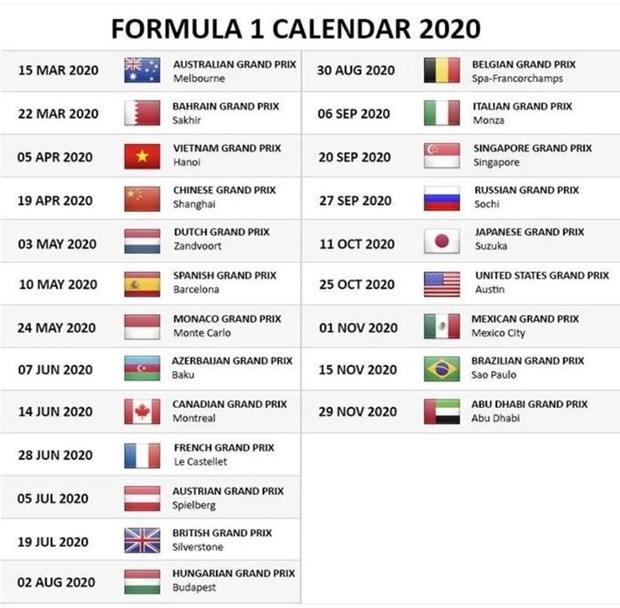Giam doc F1: Khong hoan chang dua Vietnam Grand Prix hinh anh 2