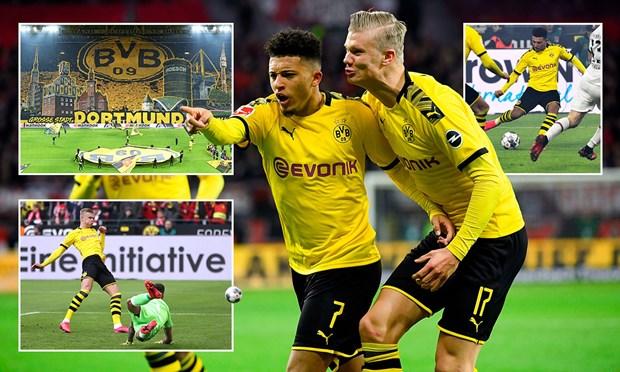 Dortmund ap sat ngoi dau sau man 'huy diet' Eintracht Frankfurt hinh anh 1