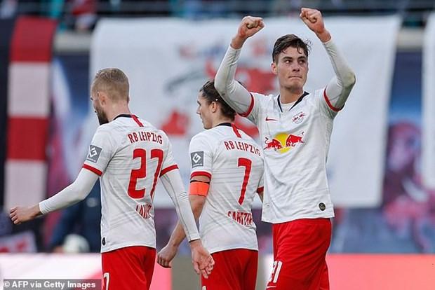 Bundesliga: RB Leipzig, Gladbach khien cuoc dua vo dich kich tinh hinh anh 1