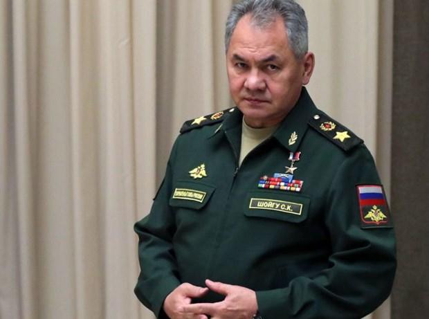 Bo truong Nga va Tuong Haftar nhan manh giai phap chinh tri cho Libya hinh anh 1
