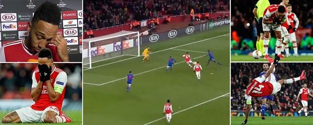 Euopa League: M.U thang huy diet, Arsenal cay dang chia tay hinh anh 2
