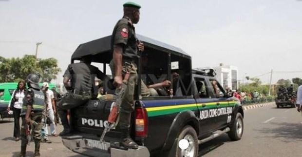 Canh sat Nigeria triet pha mot